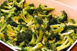 ... ®: Recipe for Roasted Broccoli with Lemon and Pecorino-Romano Cheese