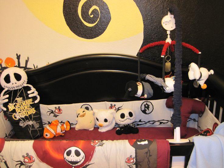 Nightmare before christmas nursery | NBC Baby shower | Pinterest