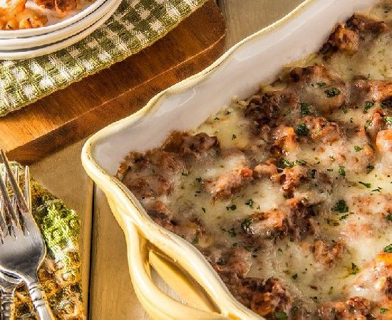 skinny three-cheese meat lasagna | (healthy) food, glorious food ...