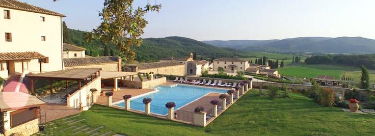 Hotel Tuscany La Bagnaia Resort  Siena, Italy
