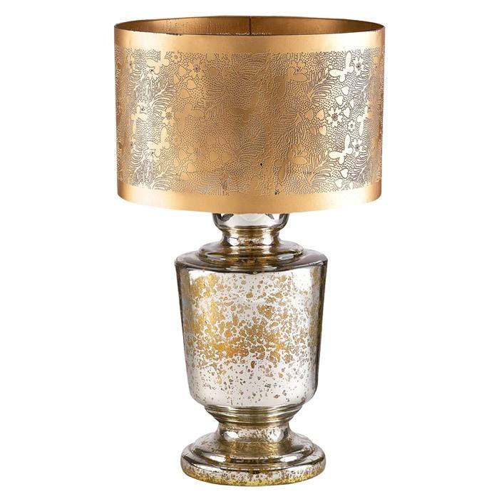 mercury glass lamp in gold light up my life pinterest. Black Bedroom Furniture Sets. Home Design Ideas