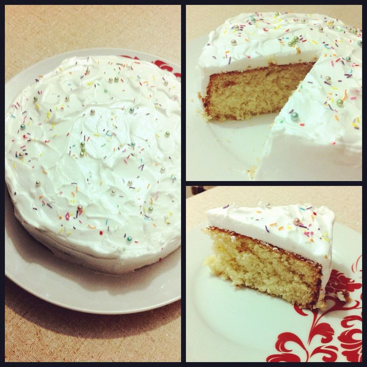... whipped cream cream cheese frosting genoise layer cake with rum syrup