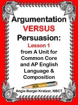 essay on argumentation persuasion