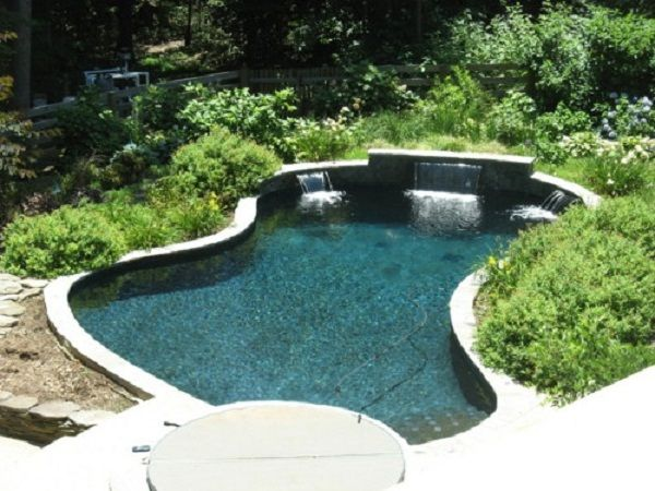 Small inground pools for small spaces joy studio design for Pool design northern virginia