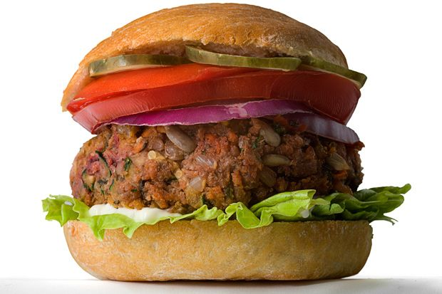 CHOW Veggie Burger Our stab at the perfect formula includes vegetables ...