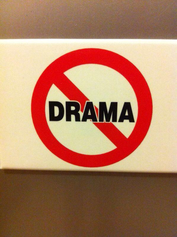 Anti drama