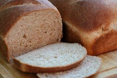 Farm-Style Whole Wheat Bread | Breads | Pinterest