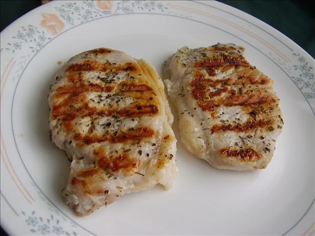 Easy pork chops (pan fried)