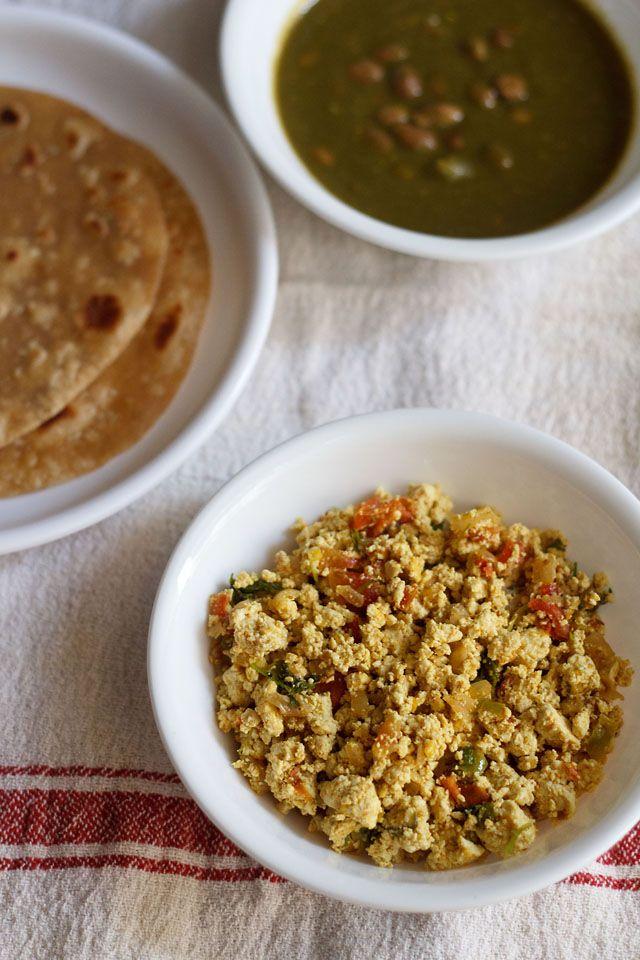 tofu bhurji or indian style scrambled tofu is what i make for a quick ...