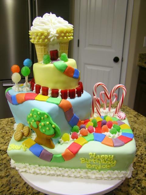 Candyland Cake Birthday Ideas Pinterest