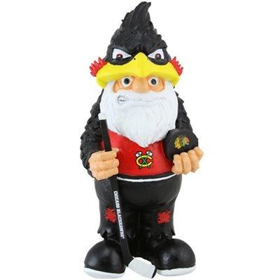 Chicago Blackhawks Team Mascot Gnome