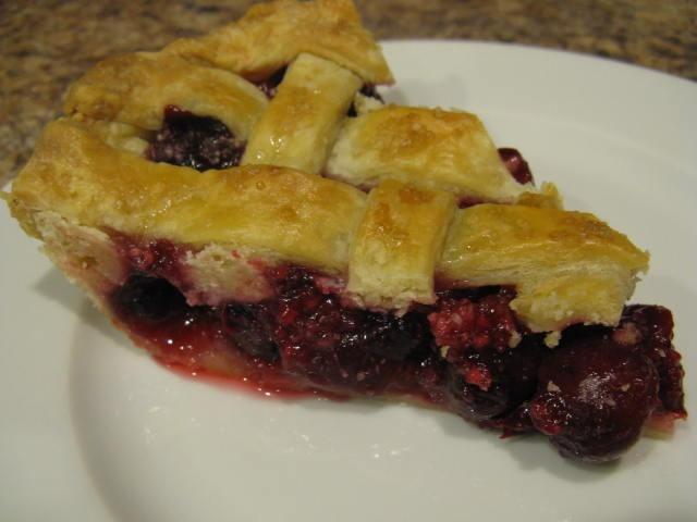 sour cherry pie | Food | Pinterest