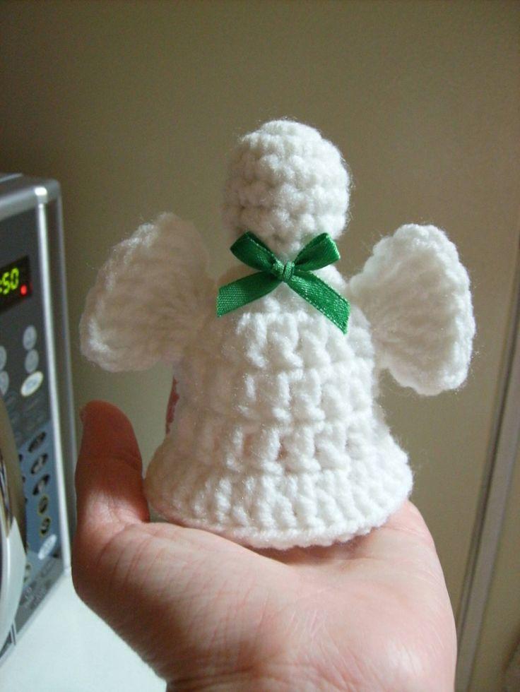 Crochet Patterns Free Angel : Free Angel Bell Crochet Pattern
