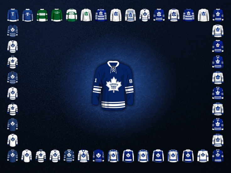 Toronto Maple Leafs Jersey History 41