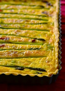 asparagus and leek quiche | Recipes - Fruit or Vegetable | Pinterest