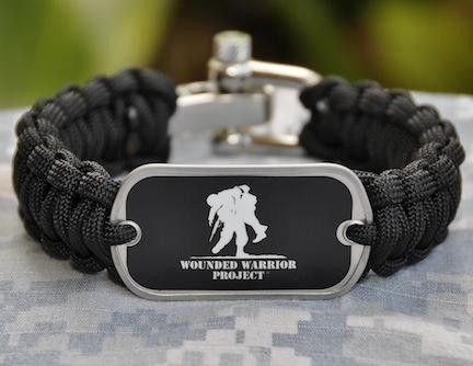 50% of the proceeds go to The Wounded Warrior Project
