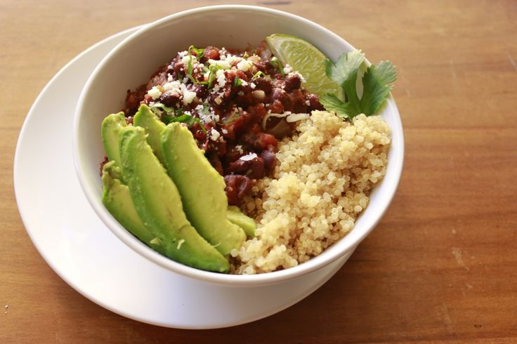 ... , easy, healthy and inexpensive meal: Black Bean Burrito Bowls
