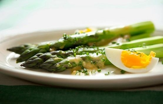 ASPARAGUS WITH MUSTARD VINAIGRETTE | Recipes | Pinterest