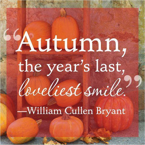 Autumn quote about my favorite season.