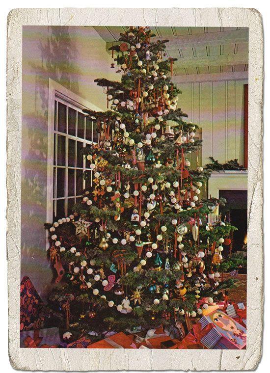 How To Make A Snowball Christmas Tree Garland