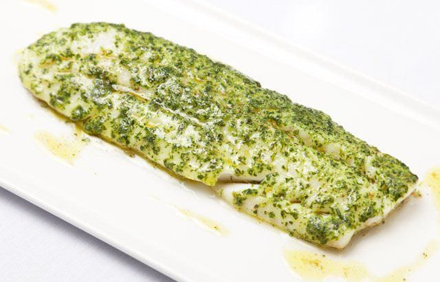 Whiting with melting herb crust recipe for Whiting fish fillet
