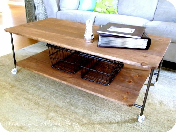 Restoration Hardware Coffee Table Knock Off