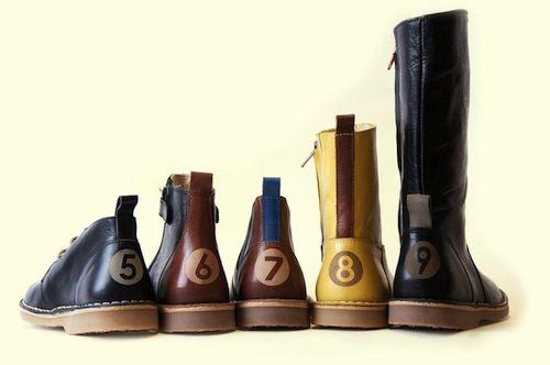 Shoes designed by Lilian de Vries