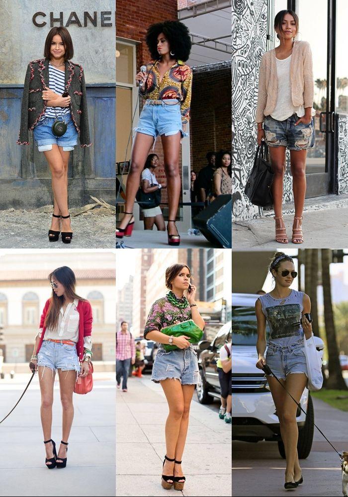 6 Ways to Wear Denim Cutoff Shorts