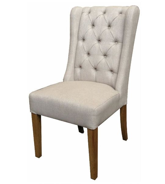 French Button Back Dining Chair New England House