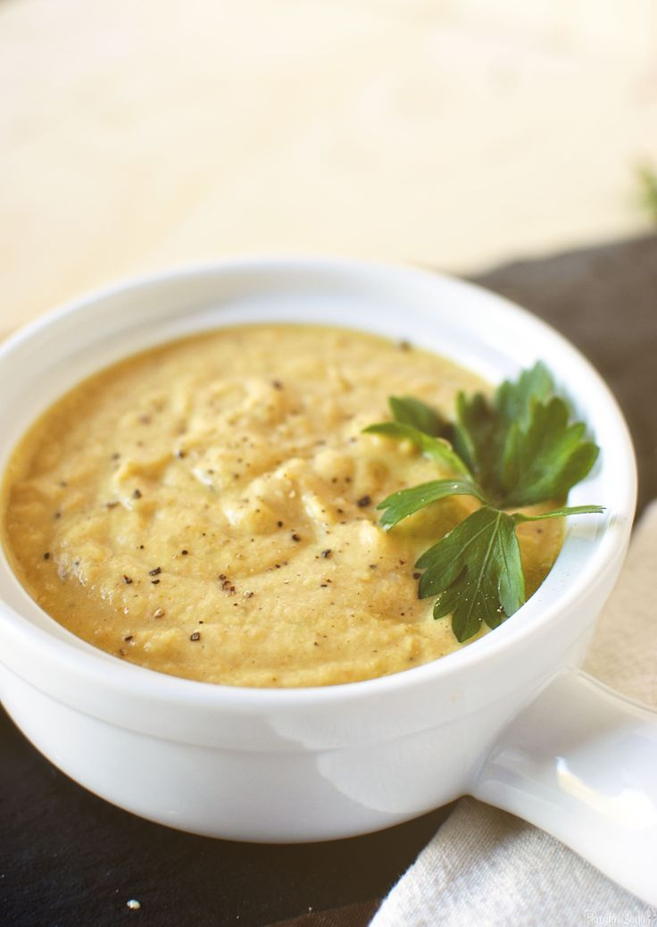 roasted cauliflower soup | Recipes | Pinterest