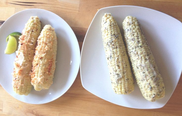 ... Chipotle and Parmesan Corn on the Cob and Butter Herb Corn on the Cob