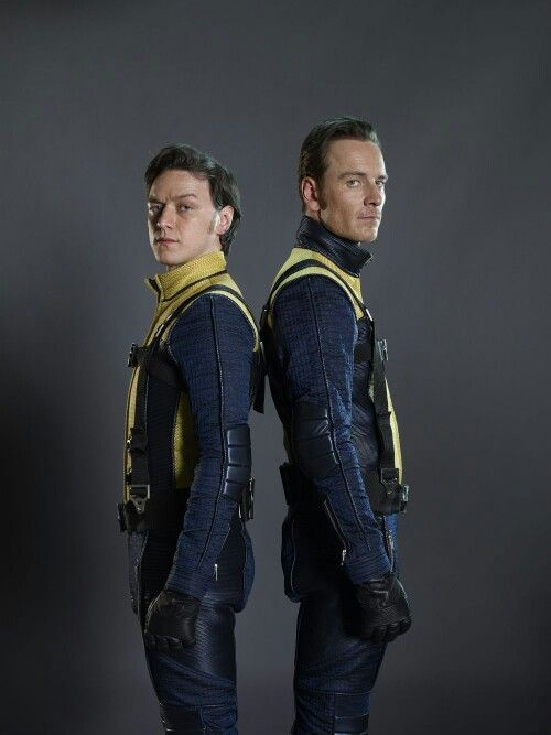 First Class Charles and EricX Men First Class Magneto And Charles