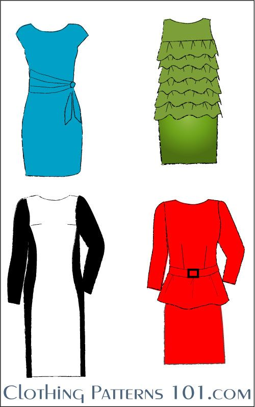 Elements Of Design In Clothing : Elements of clothing design sewing to do instructional