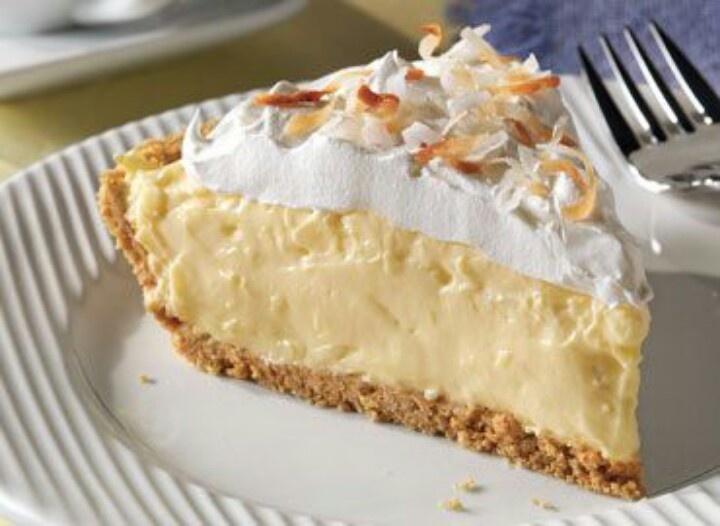 Easy coconut cream pie | Recipes sweets | Pinterest
