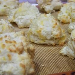 """Cheese Drop Biscuits   """"These are easy, fast, and very tasty. Great ..."""