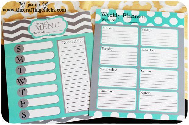 Printable Weekly Planners Cute Cute Weekly Planner