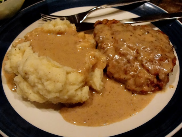 gravy chicken fried steak with cream gravy recipe yummly chicken fried ...