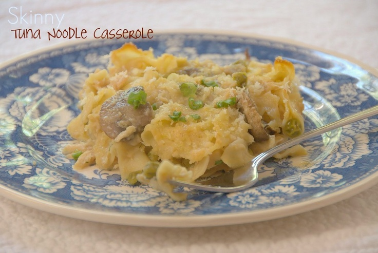 Skinny Tuna Noodle Casserole | food | Pinterest
