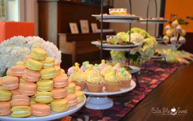 baby shower dessert bar dessert bars pinterest