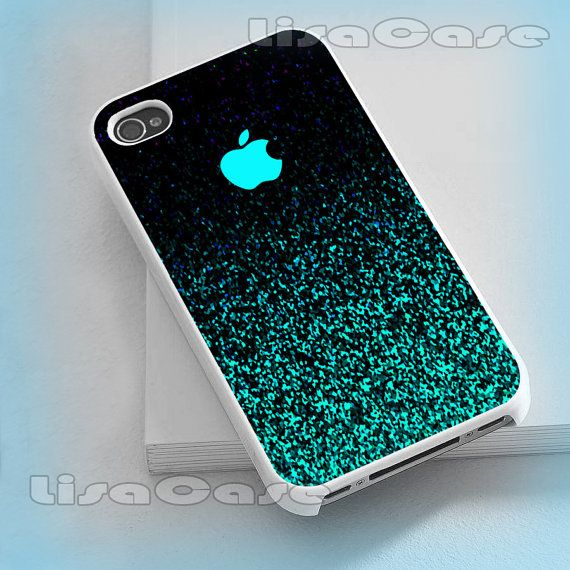 Mint Sparkle, iPhone case, iPhone 4/4S case, iPhone 5 Case, Samsung G ...
