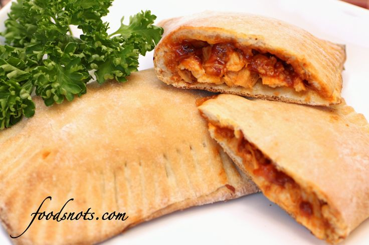 Barbecue Chicken Calzones | Food | Pinterest