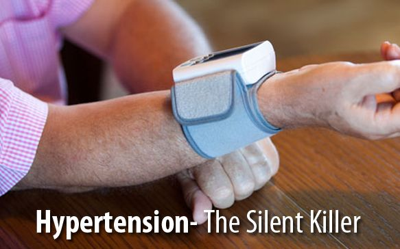 Hypertension, or high blood pressure, is known as the silent killer ...