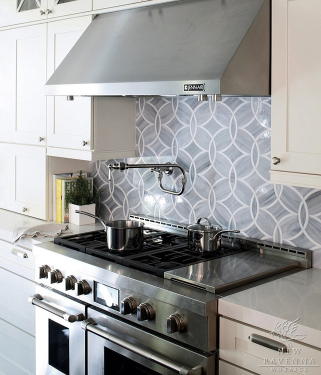 blue tile backsplash anybody know what that faucet thing is for