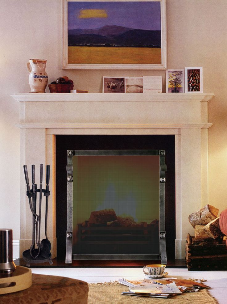 Fireplace Mantel | Custom Fireplace Mantels | Pinterest