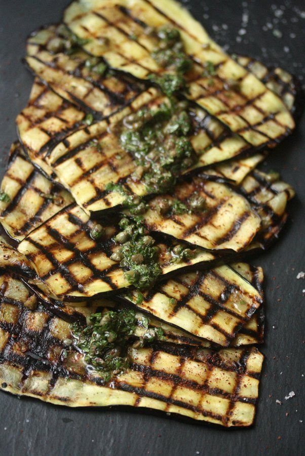 Grilled Eggplant | Food | Pinterest