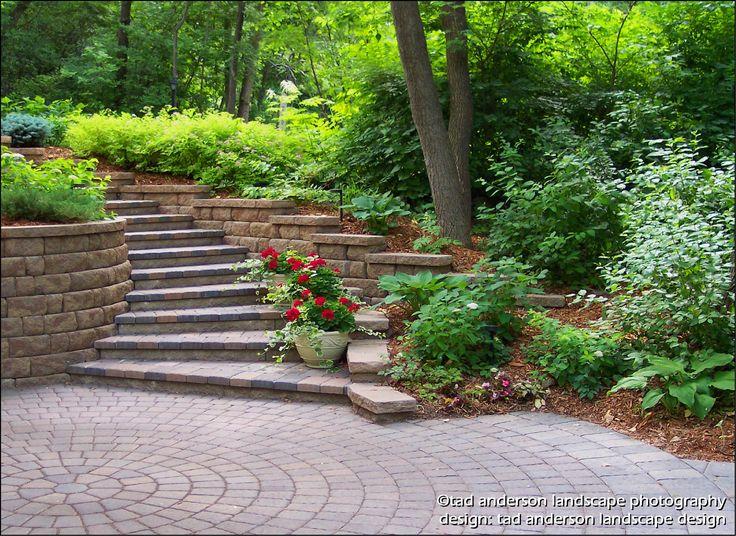 Marvelous Backyard Landscaping Ideas Hillside Around Inspiration Article