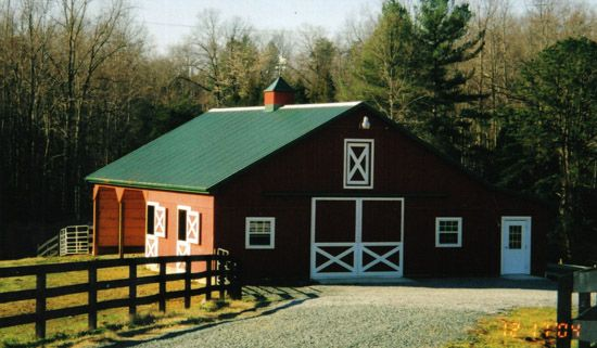 Luxury Horse Barn Building Designs Dream House Pinterest