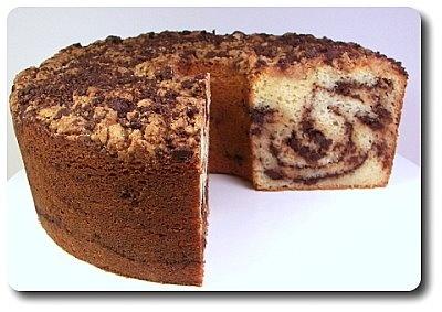 Chocolate Ripple Coffee Cake | Coffee Cake | Pinterest
