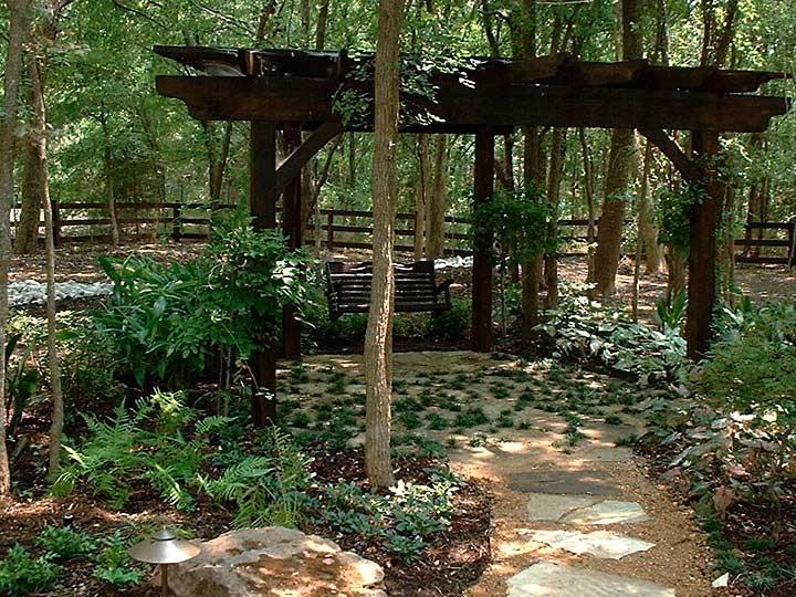 woodland garden pergola woodland garden pinterest