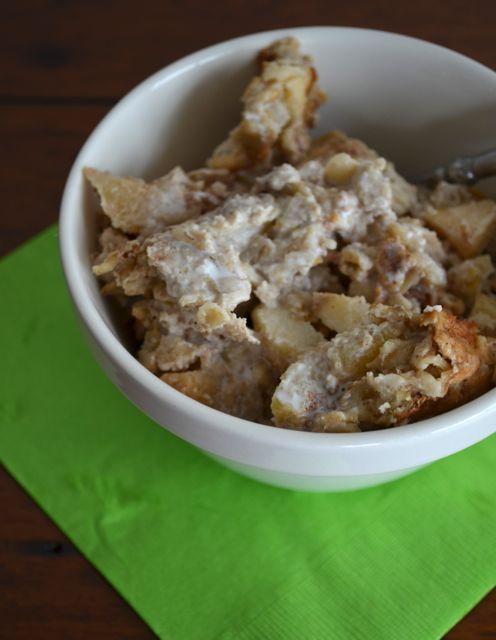 Apple pie baked oatmeal | Fuel with BREAKFAST | Pinterest